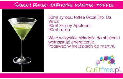 Przepis na dietetyczny jabłkowe martini z toffee