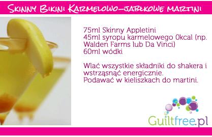 Przepis na Skinny Bikinny jabłkowe martini