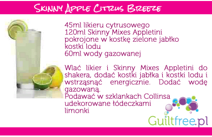 Przepis na Skinny Apple Citrus Breeze