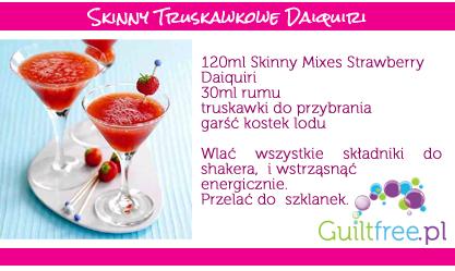 Przepis na drink Comopolitan w wersji dietetycznej
